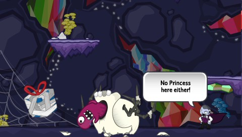 Monsters (Probably) Stole My Princess PSP No Princess here either