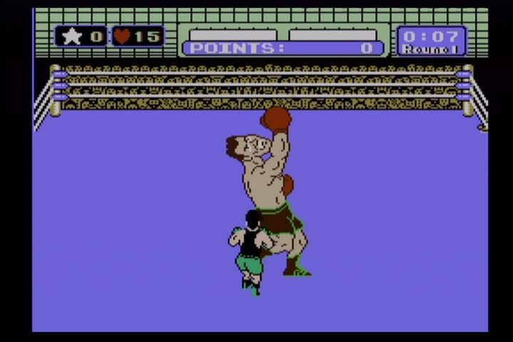 Mike Tyson's Punch-Out!! NES It's really just Tyson slightly redrawn.