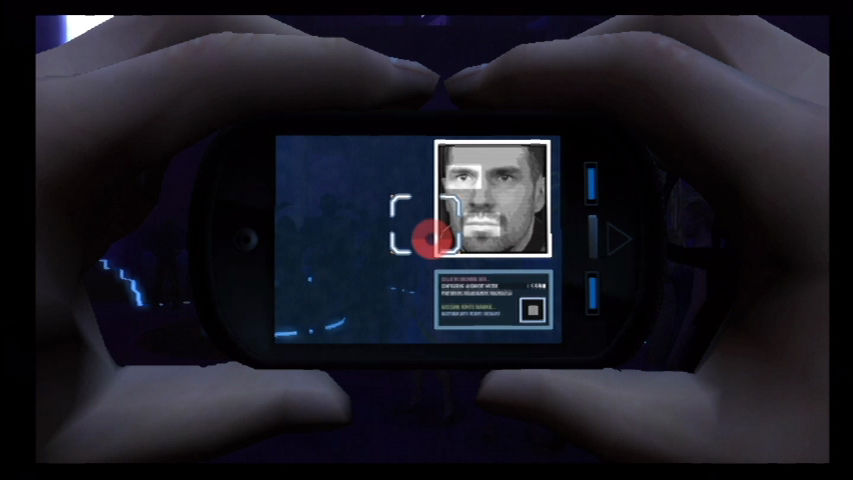 GoldenEye 007 Wii Using your smartphone to locate an informant.