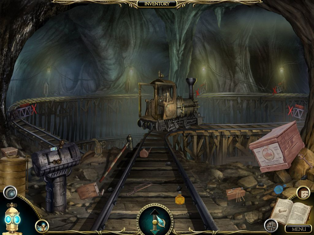The Clockwork Man: The Hidden World Macintosh Zoomed - Abandoned Mines