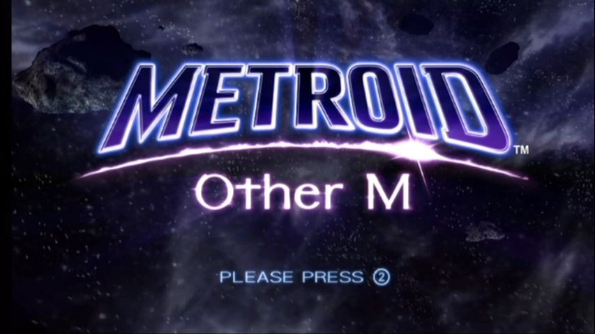 Metroid: Other M Wii Title screen