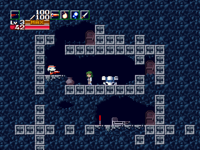 Cave Story Windows Disguised as a Mimiga