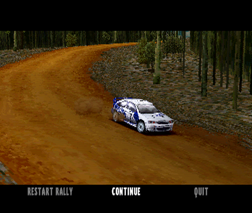Colin McRae Rally PlayStation Replays are always fun to watch