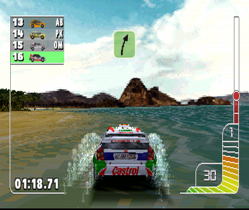 Colin McRae Rally PlayStation You can wash you car for free though