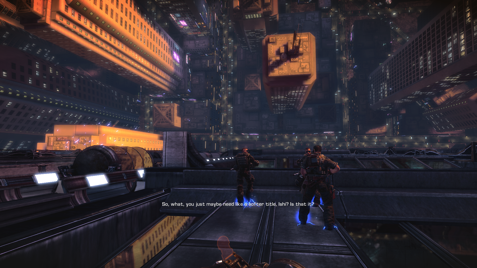 Bulletstorm Windows Walking on the walls in the prologue