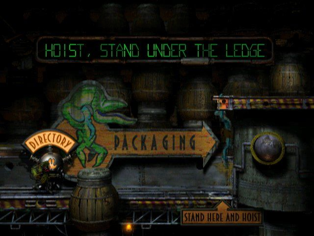 Oddworld: Abe's Oddysee Windows Escaping in nick of time