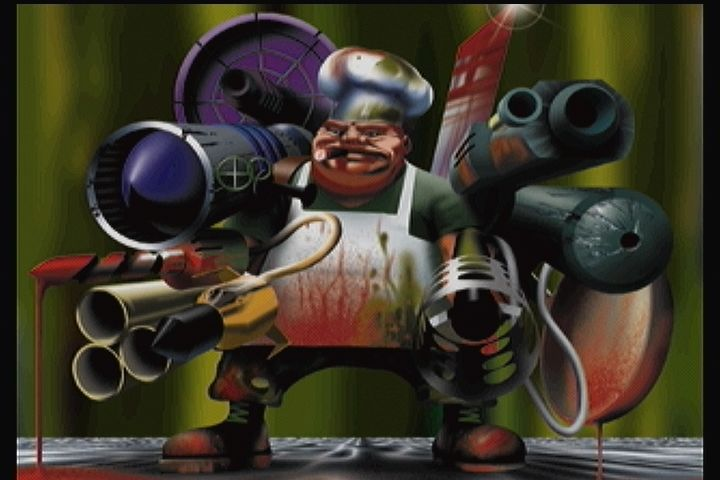 PO'ed 3DO Ox (the player character) seen in the credits.