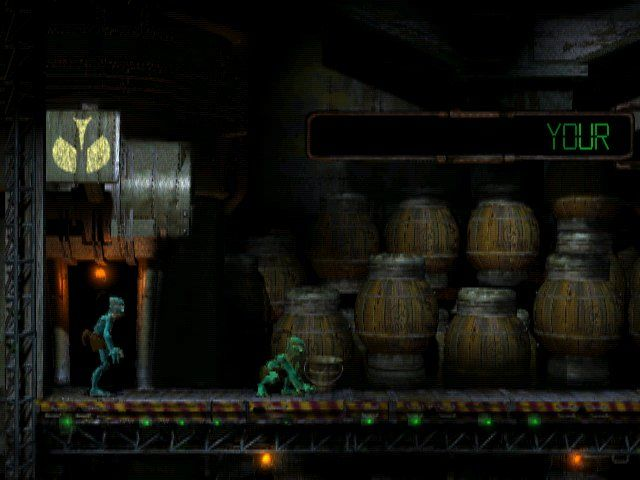 Oddworld: Abe's Oddysee Windows You must rescue your race from being served as a main meal