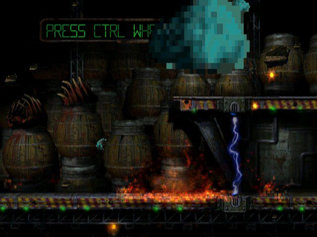 Oddworld: Abe's Oddysee Windows Defusing a bomb isn't always succesful when I'm playing around