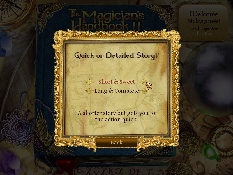 The Magician's Handbook II: BlackLore Macintosh Short/Long Story