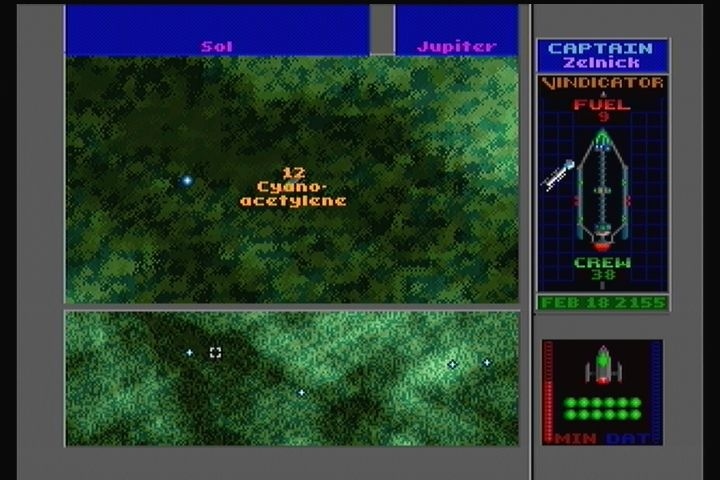 Star Control II 3DO Drive your lander to the scanned ores to collect them.