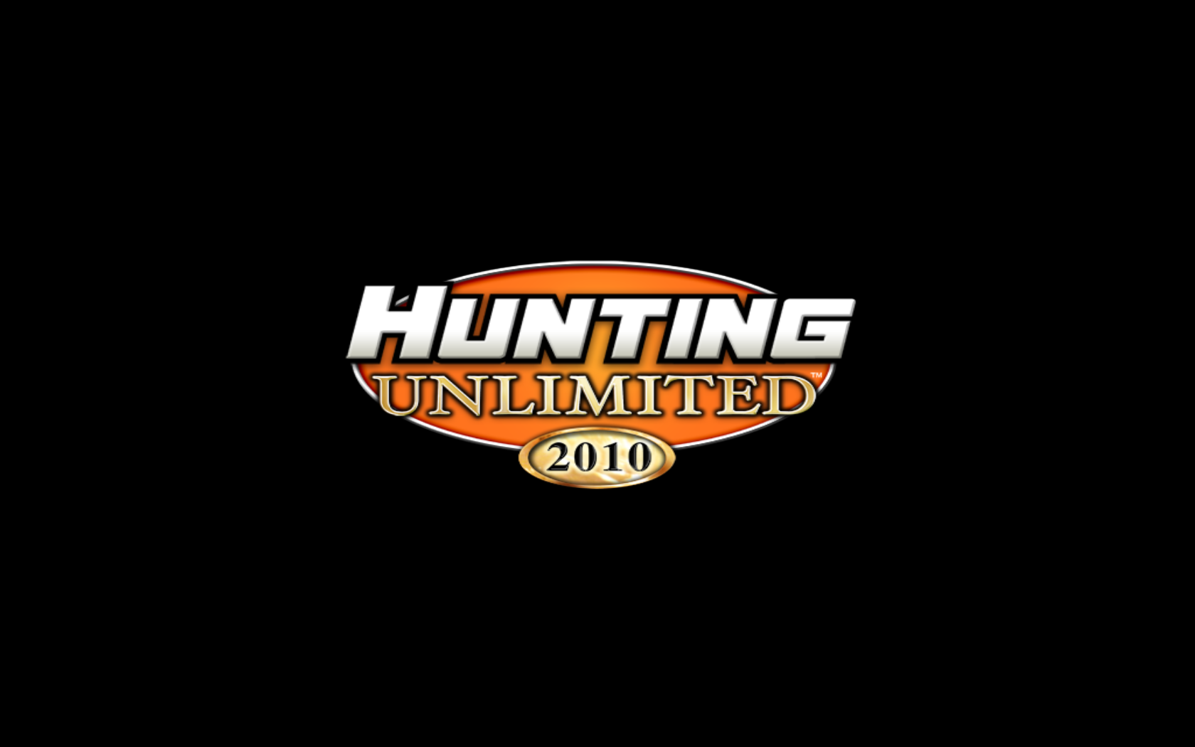 Hunting Unlimited 2010 Windows Title Screen