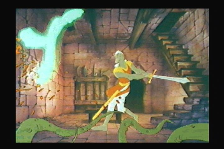 Dragon's Lair 3DO Quick on the sword