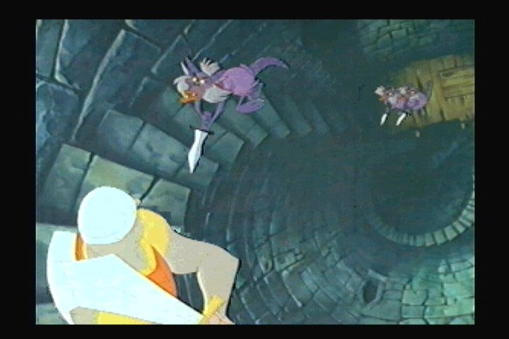 Dragon's Lair 3DO Monsters on the charge.