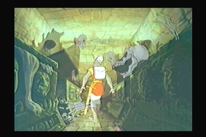 Dragon's Lair 3DO Get ready to move...