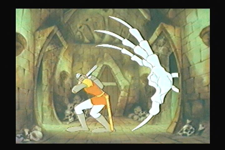 Dragon's Lair 3DO Behind you!