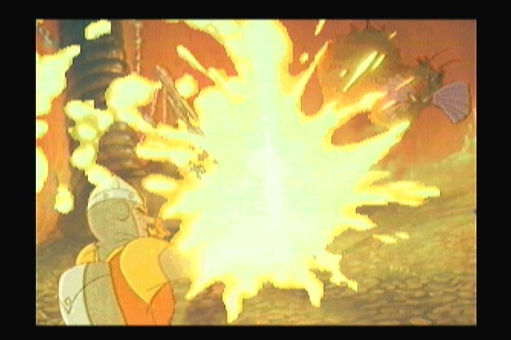 Dragon's Lair 3DO Fighting Singe.