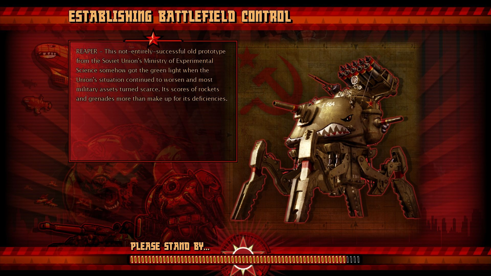 Command & Conquer: Red Alert 3 - Uprising Windows Introducing some new units.