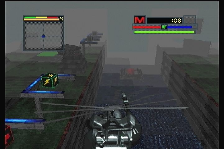 Blade Force 3DO Take to the skies.