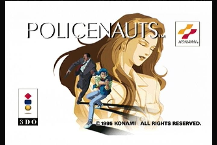 Policenauts 3DO Title screen