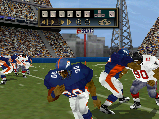 Madden NFL 2000 Windows Instant replay