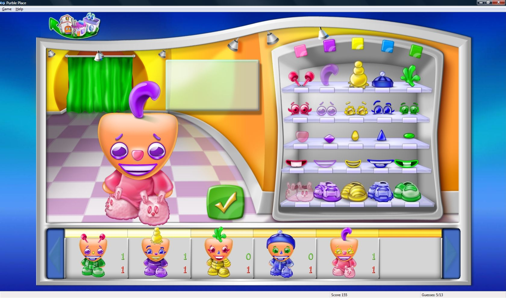 Free Purble Place Cake Game