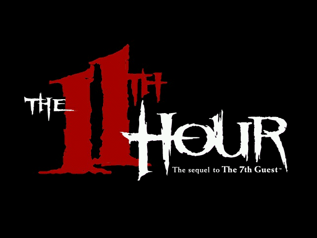 The 11th Hour DOS Title screen