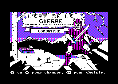 The Ancient Art of War Amstrad CPC Let's Fight !