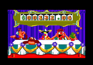 Fiendish Freddy's Big Top O' Fun Amstrad CPC I worry about these judges.