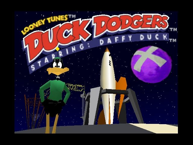 Looney Tunes: Duck Dodgers - Starring Daffy Duck Nintendo 64 Intro.