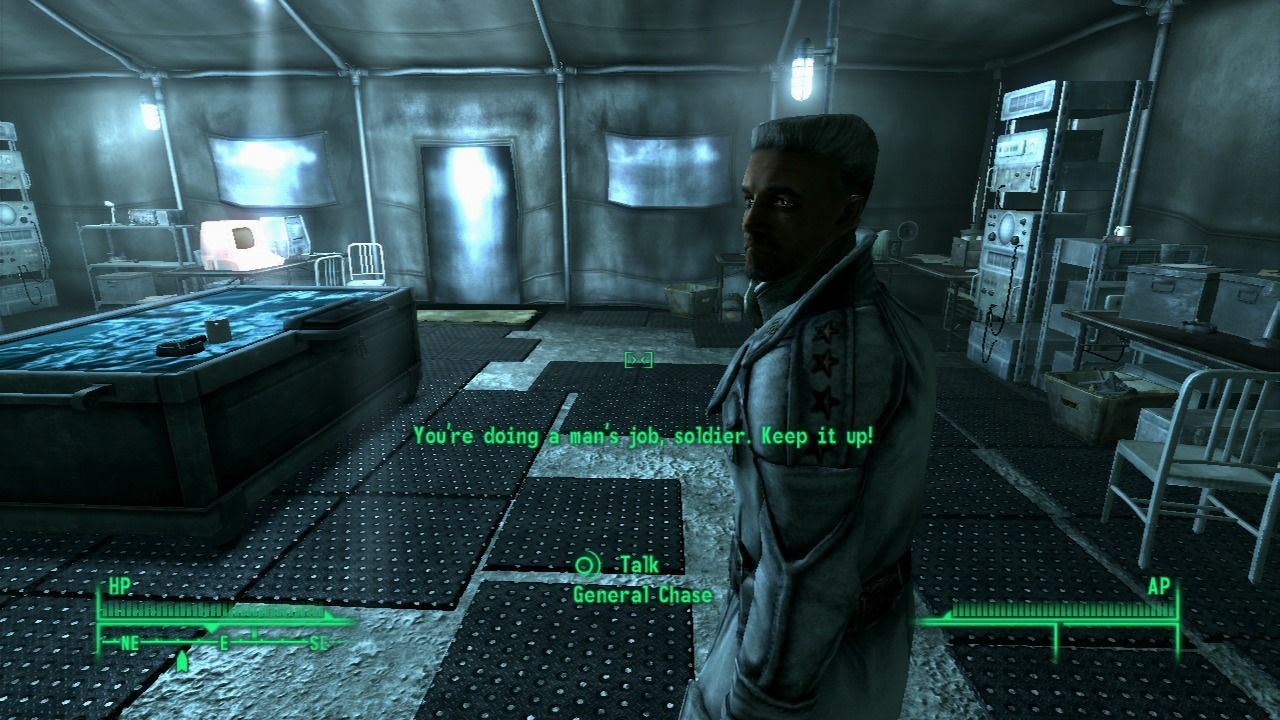 Fallout 3: Operation: Anchorage PlayStation 3 General Chase has ordered an all out assault.