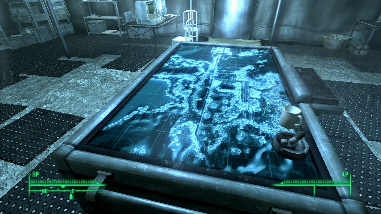 Fallout 3: Operation: Anchorage PlayStation 3 Strategic map... the mission is afoot.