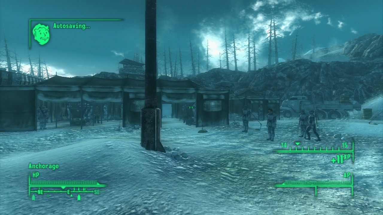 Fallout 3: Operation: Anchorage PlayStation 3 At the base camp.