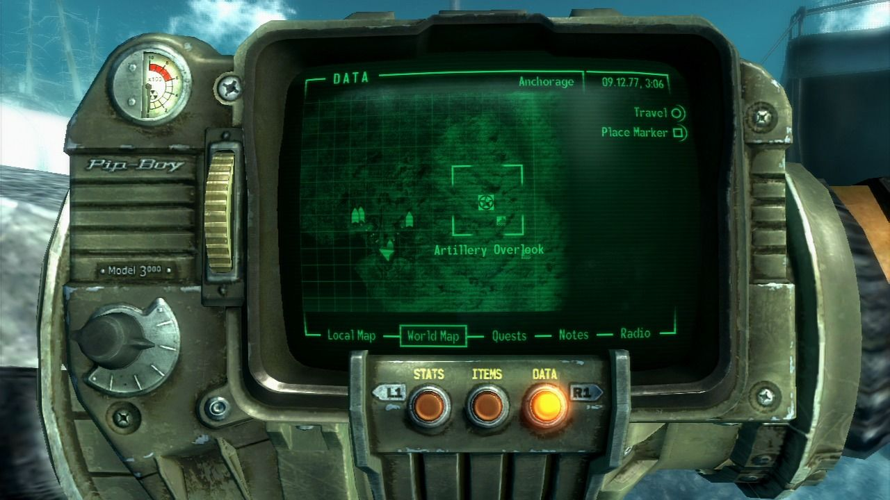 Fallout 3: Operation: Anchorage PlayStation 3 Events in this mission take place in virtual Alaska.