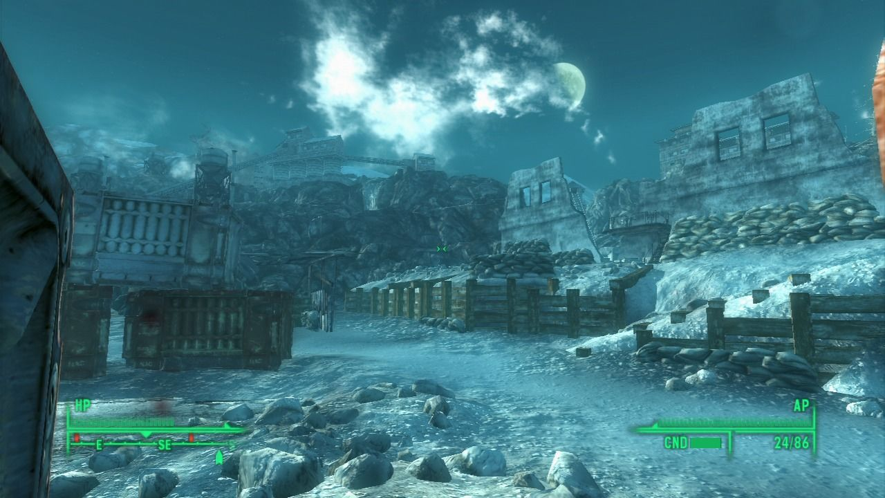 Fallout 3: Operation: Anchorage PlayStation 3 Only one small part of a very large fortified positions by the enemy.