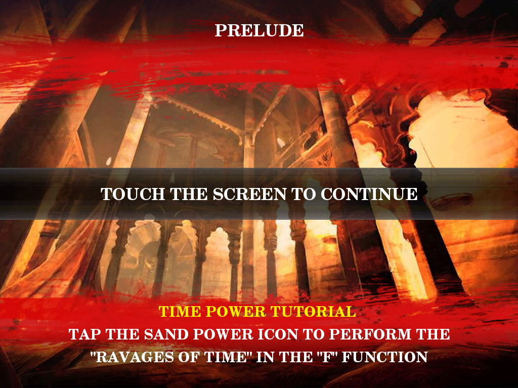 Prince of Persia: Warrior Within iPad Prelude