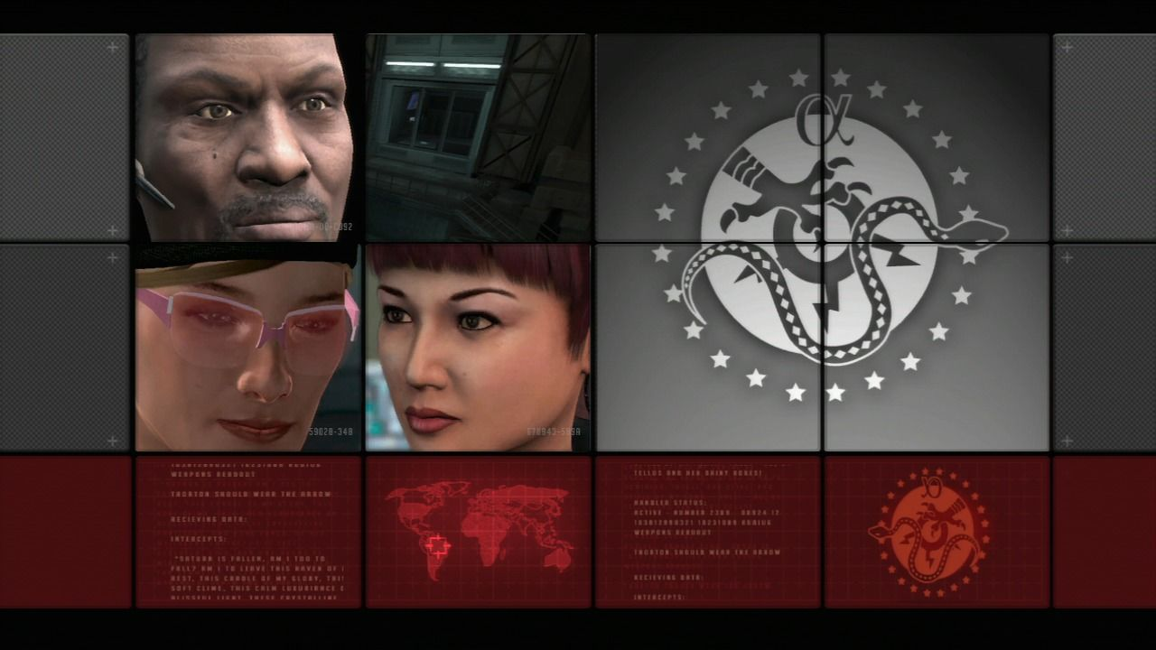 Alpha Protocol PlayStation 3 Loading screen.