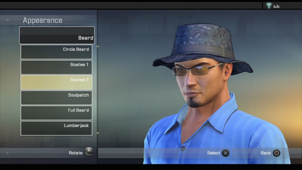 Alpha Protocol PlayStation 3 You can change your character's appearance in the safehouse.