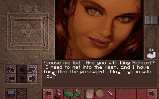 "Lands of Lore: The Throne of Chaos DOS ""Could those eyes lie? I guess not..."""
