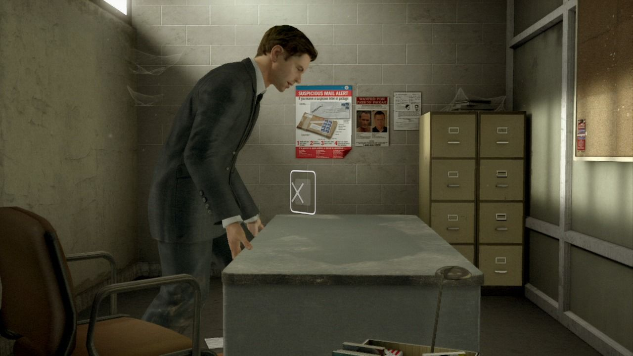 Heavy Rain PlayStation 3 Special luxury office for our FBI very special agent.