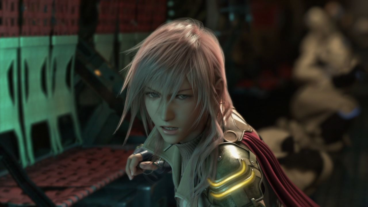 Final Fantasy XIII PlayStation 3 Lightning is a woman of little words but a lot of action.