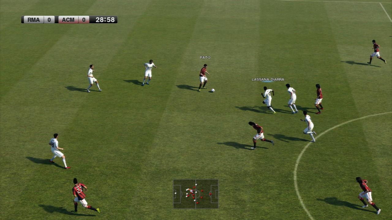 PES 2011: Pro Evolution Soccer PlayStation 3 A lot of players in a
