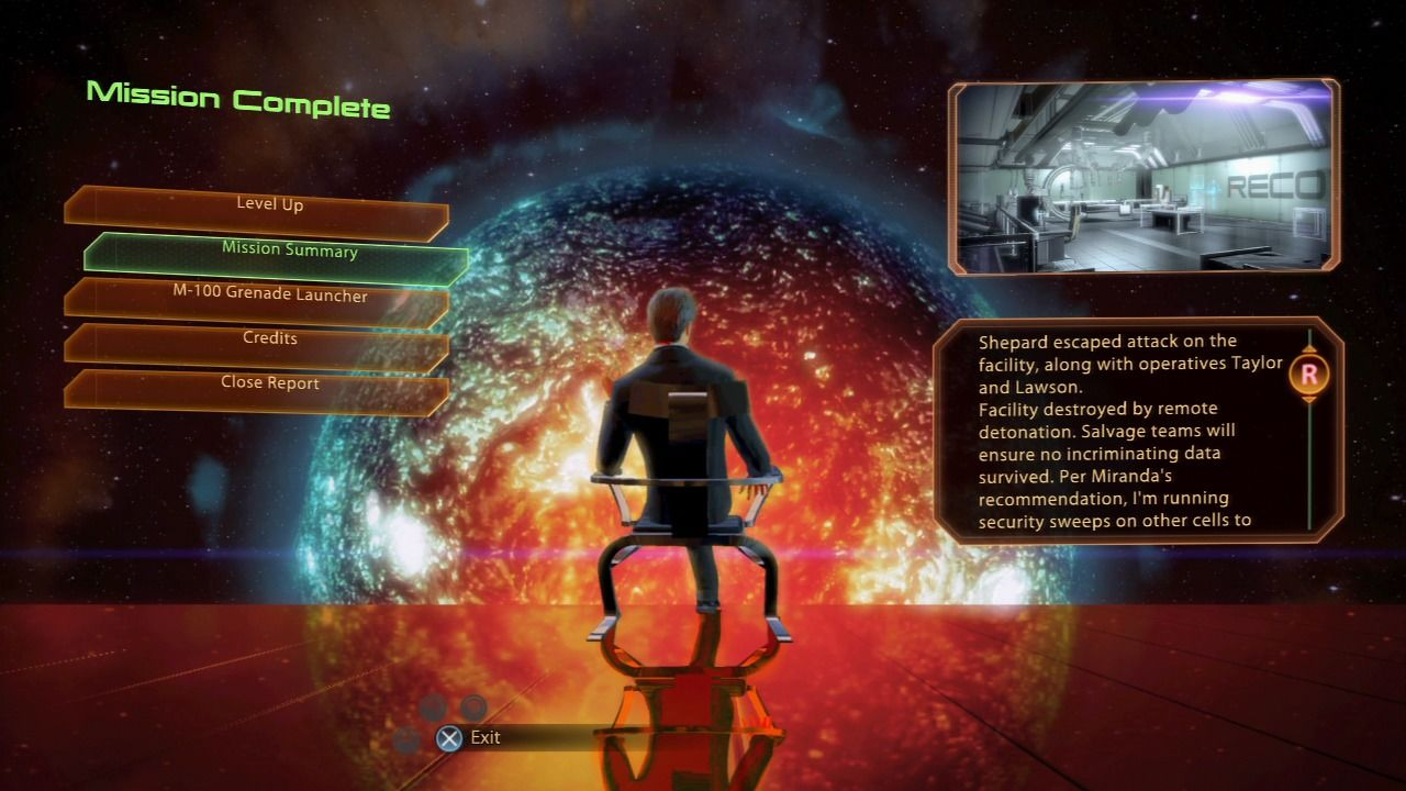 Mass Effect 2 PlayStation 3 Mass Effect 2 - Each mission objective will play as an individual mission with its rewards and closure report