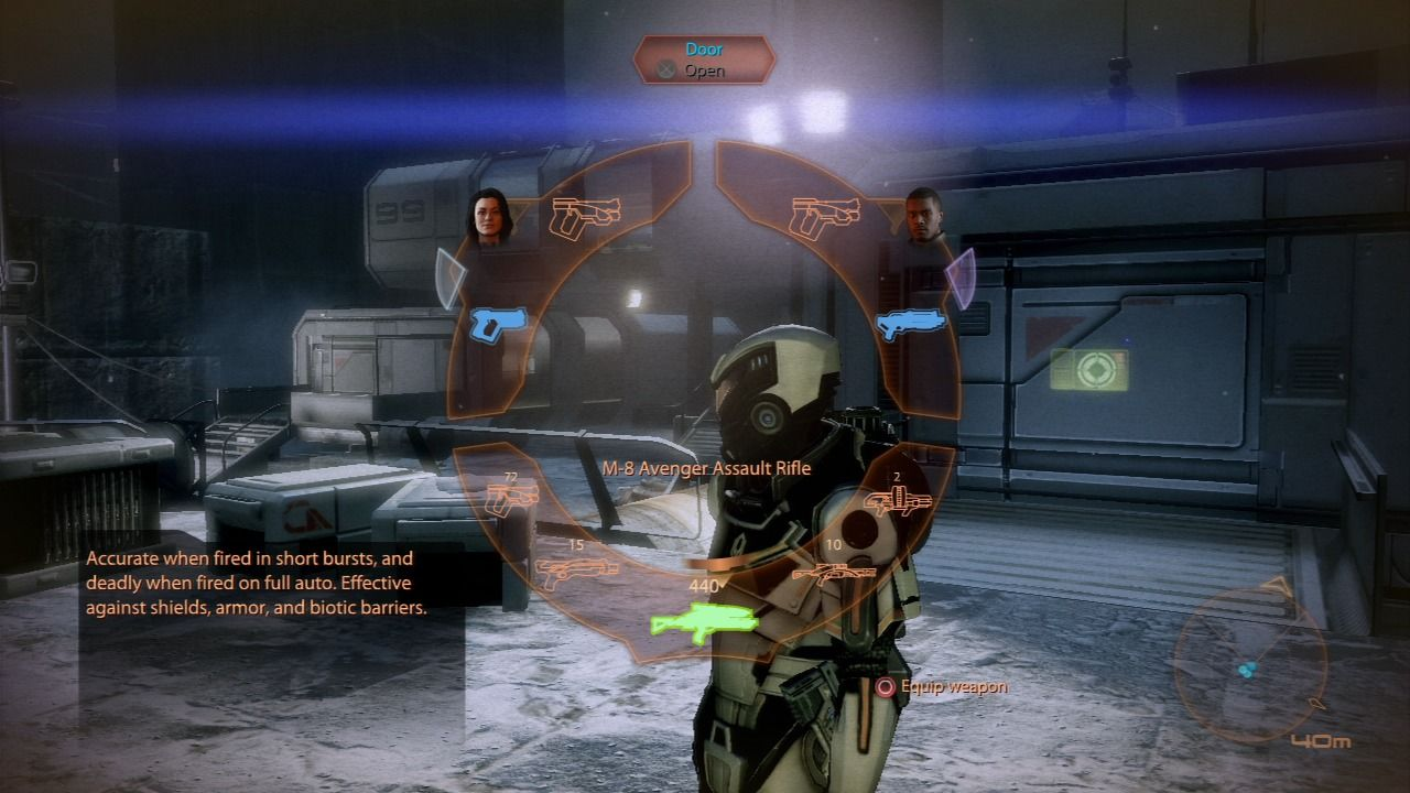 Mass Effect 2 PlayStation 3 Mass Effect 2 - Use wheel menu to change weapons or use special abilities