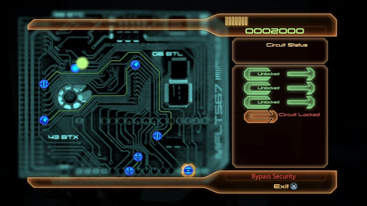 Mass Effect 2 PlayStation 3 Mass Effect 2 - Bypassing the circuits to unlock the safe