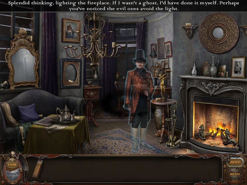 Haunted Manor Lord Of Mirrors IPad Living Room Noble Man Ghost