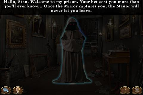 Haunted Manor: Lord of Mirrors iPhone Hooded ghost