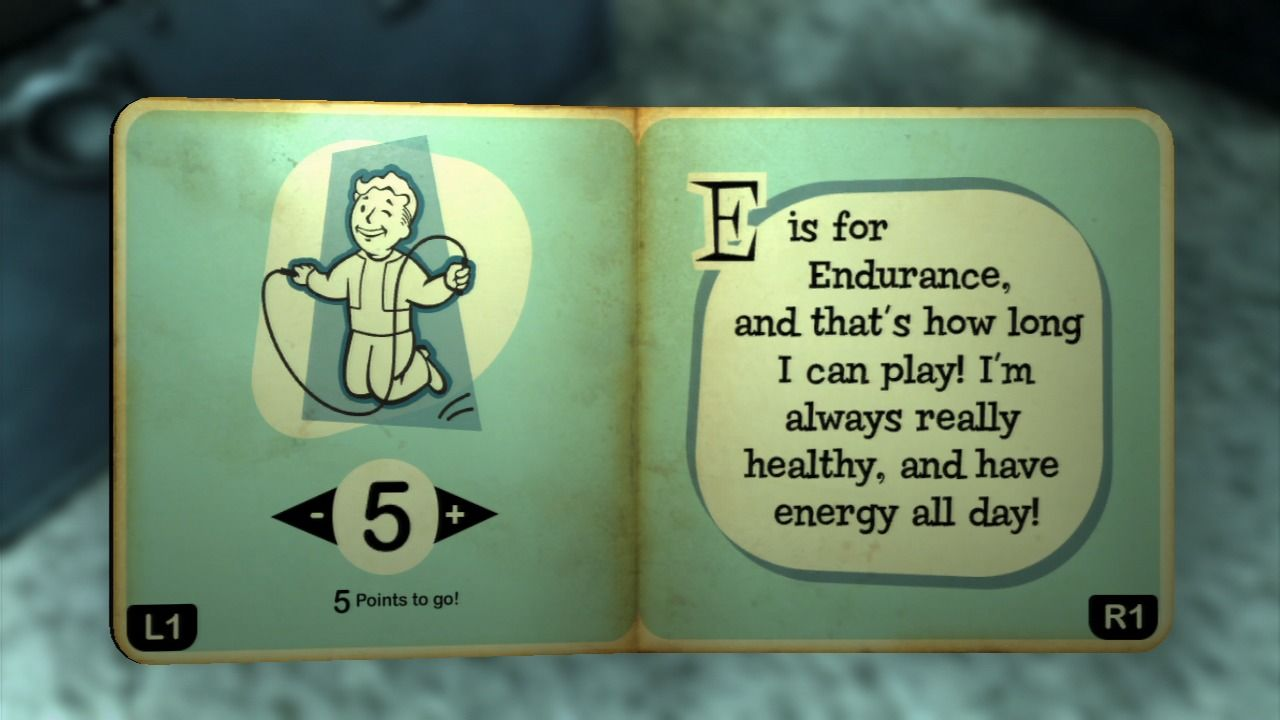 Fallout 3 PlayStation 3 Someone left this educational little book near the cradle.