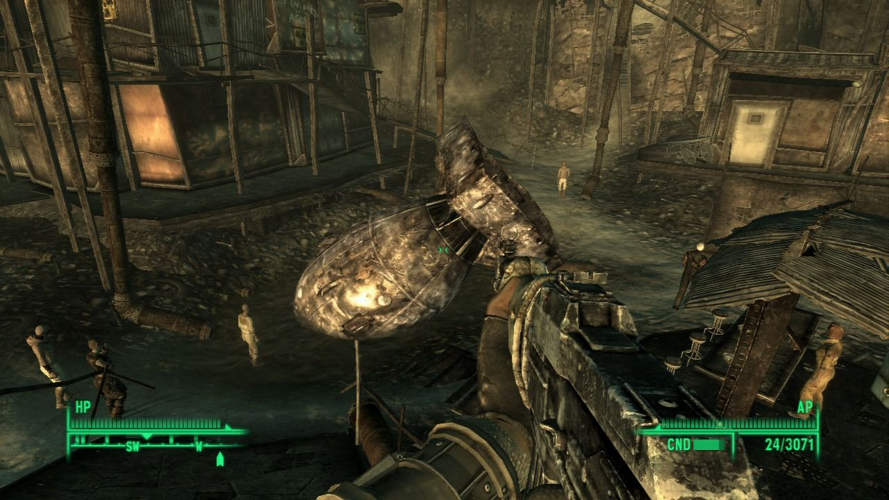 Fallout 3 PlayStation 3 Megaton is built around a live atomic bomb... good thing I disarmed it.