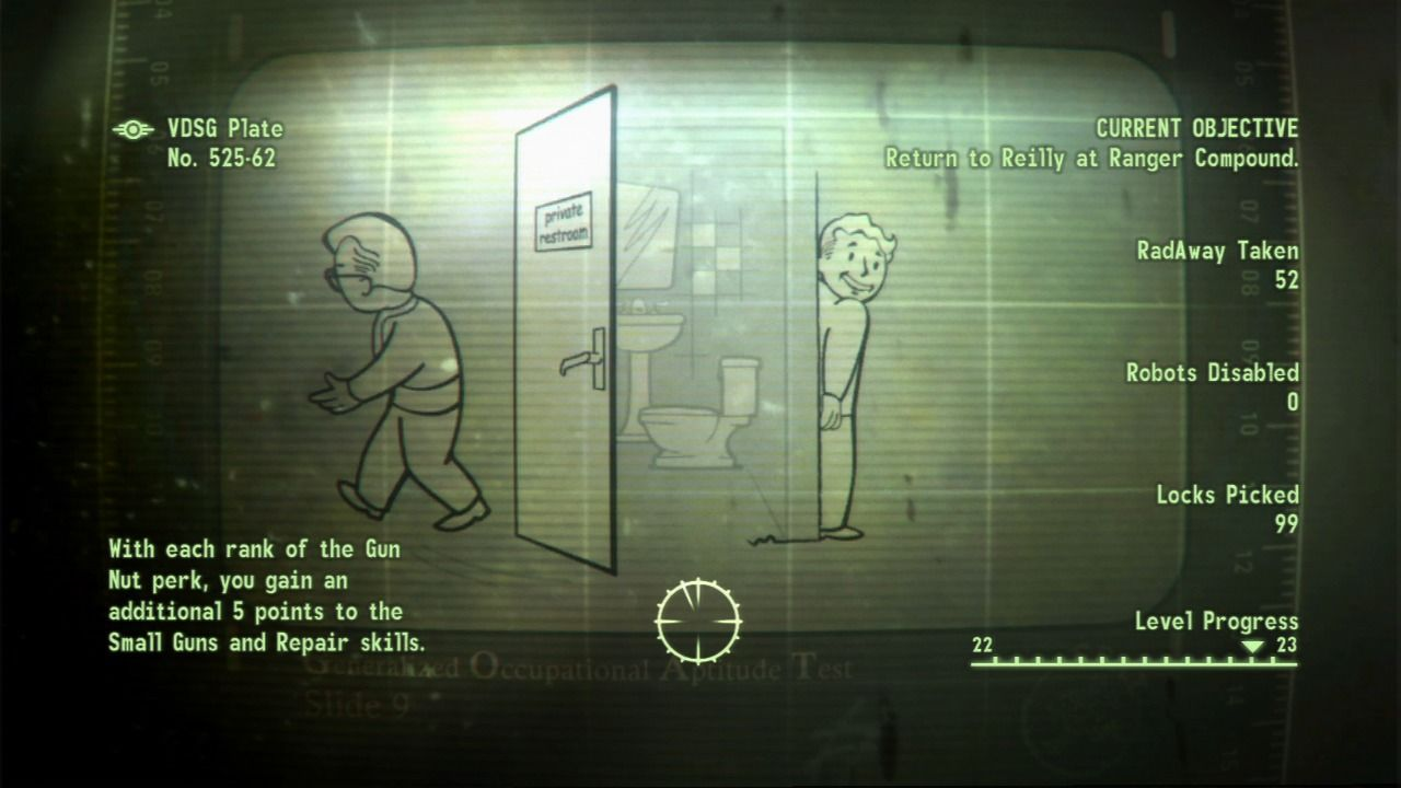 Fallout 3 PlayStation 3 Loading screens show various tip and info slides.